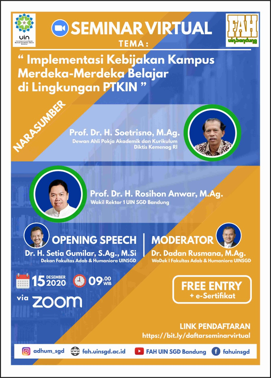 Flayer Kampus Merdeka FAH